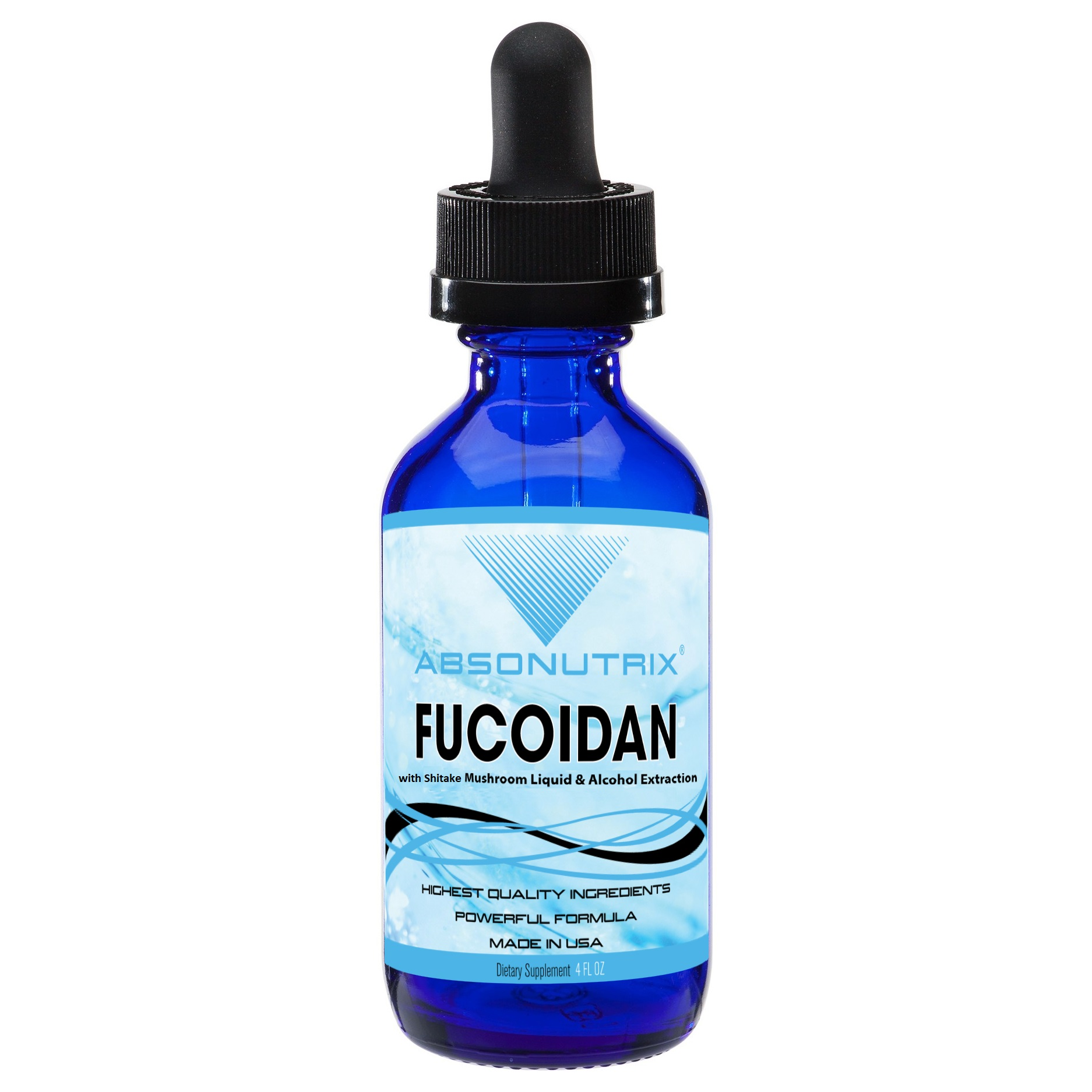 Absonutrix Fucoidan with Shitake Mushroom Liquid 500 mg helps immune response