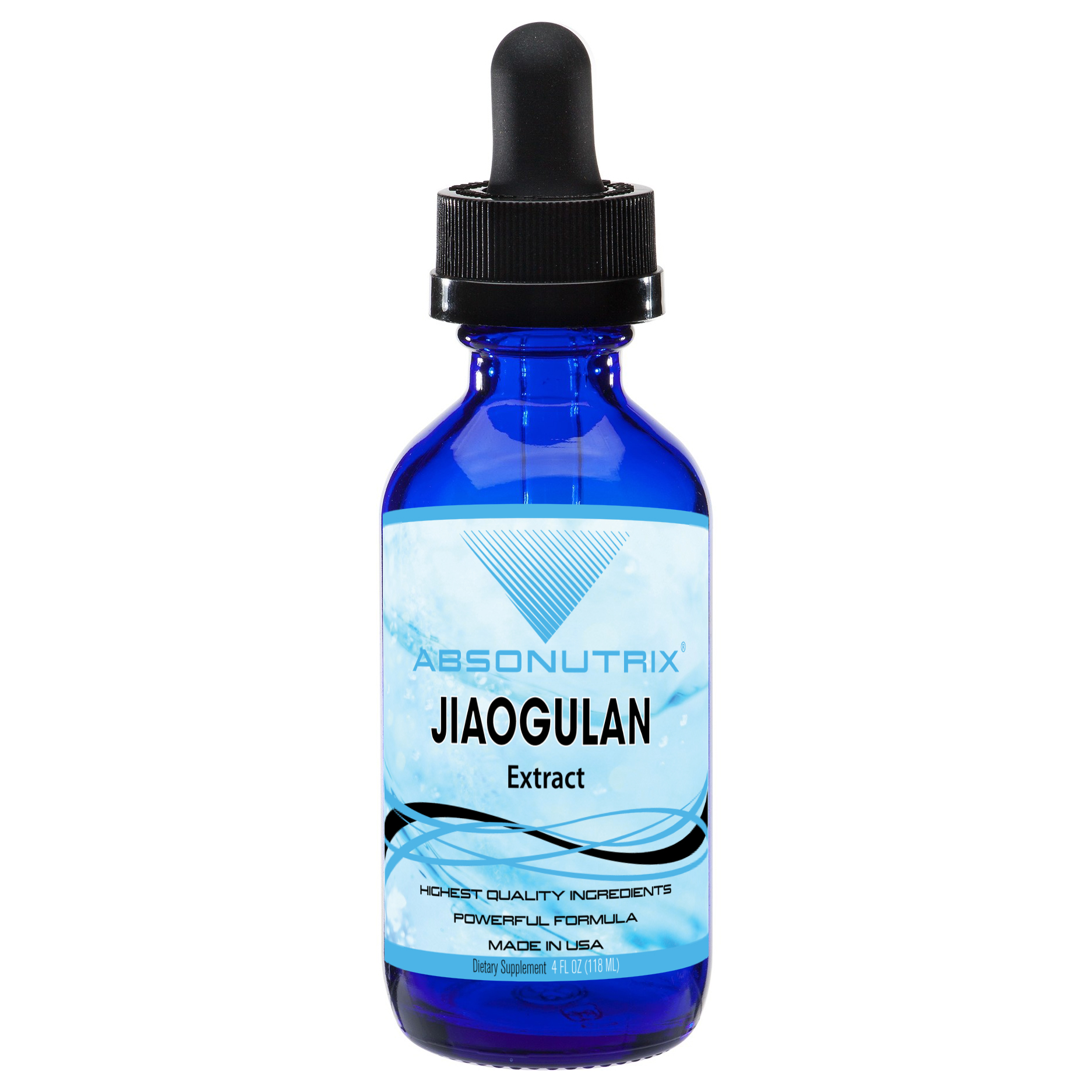 Absonutrix Jiaogulan Extract 593 mg Gynosemma pentaphyllum supports heart health