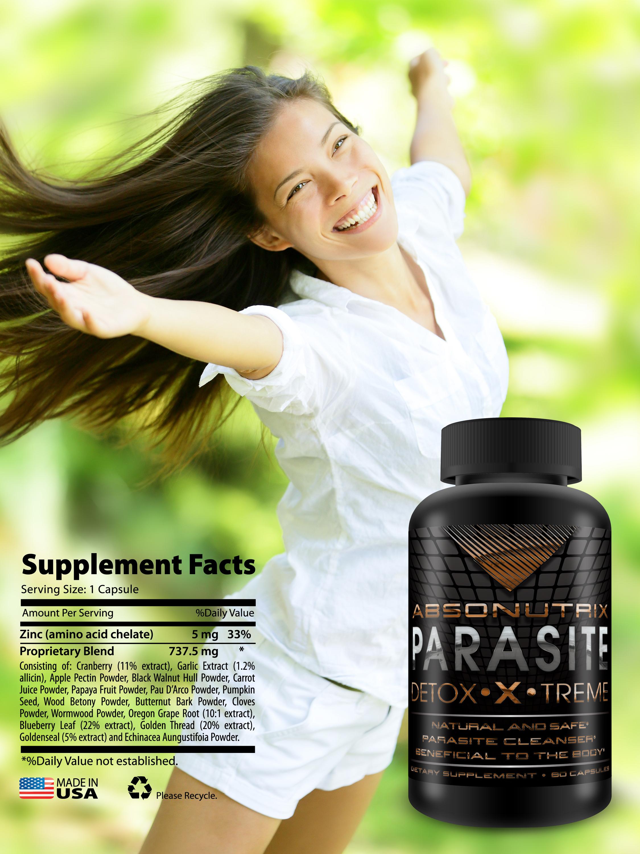 Absonutrix Parasite Detox Xtreme