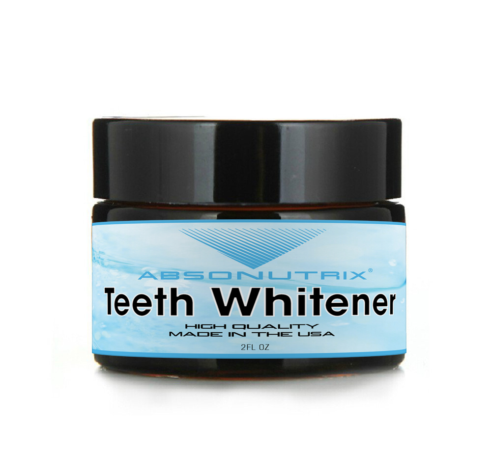 Absonutrix Teeth Whitener 2 Oz Made in USA