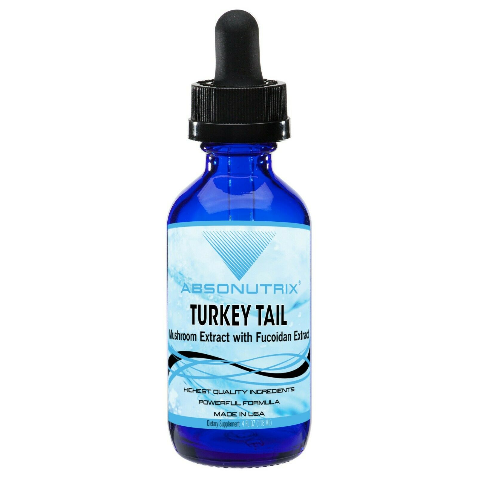 Absonutrix Turkey Tail Mushroom with Fucoidan Extract antioxidant Immune booster