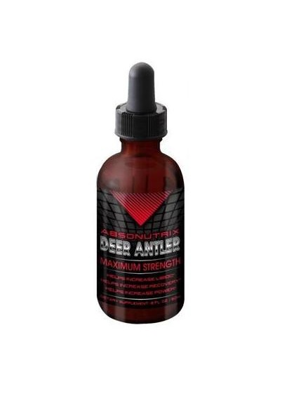 Absonutrix Deer Antler Maximum strength 4 Fl Oz helps energy and endurance