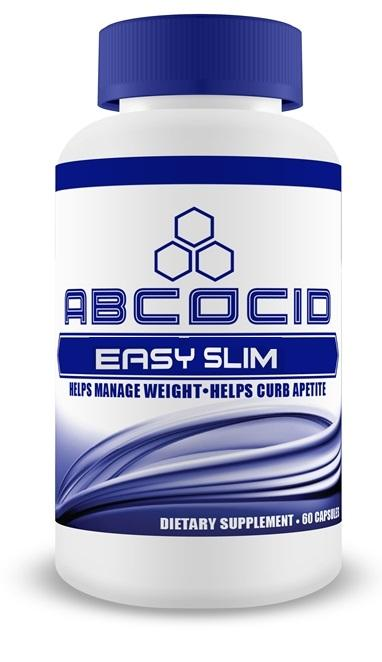 Abcocid Easy Slim with Fucoxanthin and Raspberry Ketone 60 capsules helps lose weight and suppress appetite