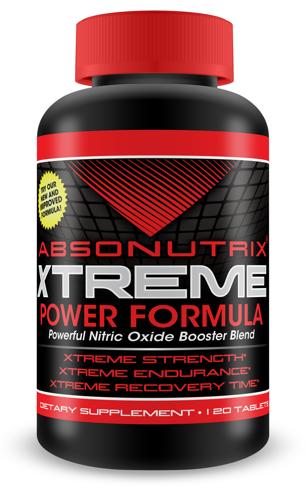 Absonutrix Xtreme Nitric oxide formula powerful nitric oxide booster blend 3000mg L-ARGININE 120 Tablets helps build muscles
